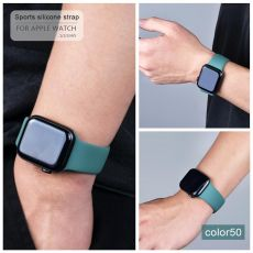 soft Silicone Sports Band for Apple Watch 5 4 3 2 1 38MM 42MM Bands Rubber Watchband Strap for Iwatch series 5 4 40mm 44mm