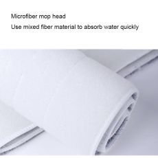 5/7/10PCS Microfiber Floor Mop Cloth Replace Rag Mop Self Wet And Cleaning Paste Mop Dry Cleaning Mop Floor Cloth Home Bathroom