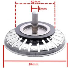 High Quality 84MM Bathroom Sink Strainer 304 Stainless Steel Water Stopper Sink Sink Water Filter Plug Kitchen Sink Accessories