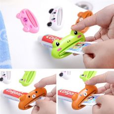 Household Toothpaste Squeezer Cartoon Multi-Purpose Toothpaste Squeezers Toothpaste Dispenser For Home Bathroom Accessories