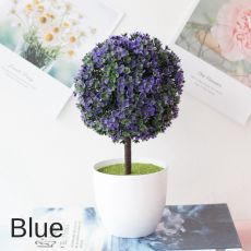 1Pc Artificial Plants Bonsai Simulation Plastic Small Tree Pot Plant Potted Ornaments for Home Table Garden Hotel Party Decor