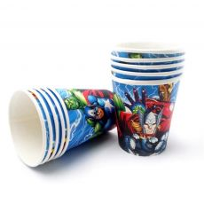 Avengers party supplies decoration kids birthday disposable tableware tablecloth cup superhero party theme love kids set