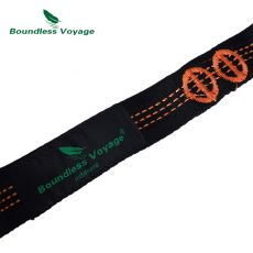 Boundless Voyage Hammock Tree Straps with Carabiner Outdoor Camping Hanging Straps Swing Rope Backyard Garden Hammock Accessory