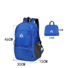 PLAYKING foldable waterproof backpack outdoor travel folding lightweight bag bag sport Hiking gym mochila camping trekking