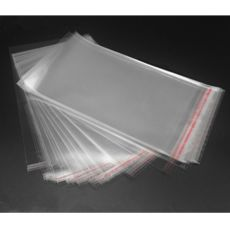 2020 NEW 100pcs Transparent Self Adhesive Seal Bags OPP Plastic Cellophane Bags Gifts Candy Bag & Pouch Jewelry Packaging Bags