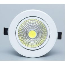 Dimmable Led downlight light COB Ceiling Spot Light 5W 7W 9W 12W 85-265V ceiling recessed Lights Indoor Lighting