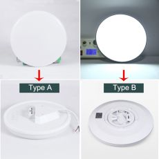 LED Ceiling Lights 220V 15W 20W 30W 50W Ceiling Lamps Surface Mounted Modern Ceiling Lighting for Living Room Light Fixtures