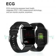 LEMFO Smart Watch 2020 New PPG ECG SmartWatch Men Bluetooth Call 24-Hour Heart Rate Monitor DIY Watch Face For Android Apple GTS