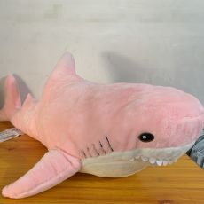 Ins 15/45/60cm Giant Shark Plush Stuffed Toy Soft Speelgoed Animal Reading Pillow for Christmas Gifts Cushion Doll Gift For Kids
