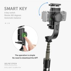 Handheld Gimbal Stabilizer Anti-Shake Selfie Stick Bluetooth Remote Control Tripod 360 Degree Smart Phone Holder For IOS Android