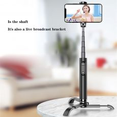 Selfie Stick Tripod Portable All-in-One  Alumium Alloy Lightweight Bluetooth Remote Stabilizer For Huawei Xiaomi Iphone 11