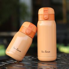 200ml/360ml Cute Candy Mini Thermos Cup Kids Cartoon Hot Water Bottle Stainless Steel Thermal Coffee Mug Vacuum flask insulated