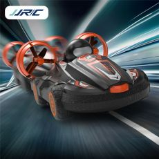 JJRC Q86 2.4G 2 IN 1 Amphibious Drift Car Remote Control Hovercraft Speed Boat RC Stunt Car for Kid Boys Model Outdoor Toys