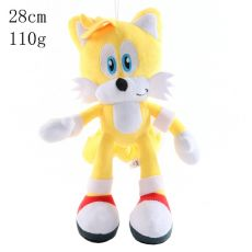 High Quality 27cm Blue Sonic Plush Doll Toy Soft Sonic Stuffed Animals Characters Kids Toys brinquedos Dolls Gifts