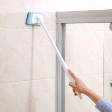 High quality Sponge long handle brush bathroom cleaning brush bathroom bath brush tiles