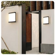 Free shipping 18W Plastic Waterproof Outdoor Led Wall Lighting Indoor Porch Wall Lamp  Energy-saving WW/WH  Garden Outdoor Light