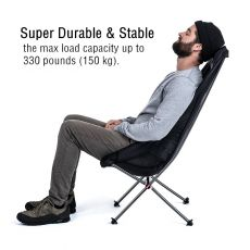 Naturehike Camping Chair Outdoor Seat Foldable Fishing Chair Collapsible Travel Chair Portable Folding Lightweight Camping Chair
