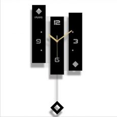 New Wall Clock Quartz Nordic Clock With Pendulum Large Size Wall Watch Modern Design