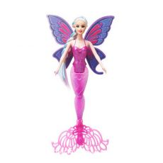 35cm New Princess Mermaid doll with wing beautiful Fairy doll girl's toy gifts