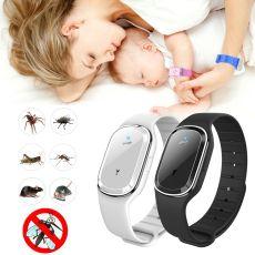 Ultrasonic Mosquito Killer Wristband Summer Mosquito Repellent Bracelet Anti Mosquito Band