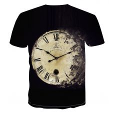 The New Alarm Clock T-shirt, The New World Hot Sale Summer Men's And Women's General T-shirts, Custom Large Size