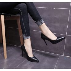 2020 spring autumn pointed toe women shoes red bottom elegant ladies party patent leather thin high heels zapatos mujer A-152