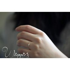 New Fashion Simple Crystal Brand Rings For Women Gold/Silver Color Female Ring Party Wedding Jewelry Wholesale