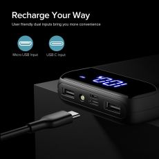 INIU Power Bank 20000mAh LED USB C Portable Charger PowerBank External Battery Charging Phone Pack For iPhone Samsung Xiaomi mi9