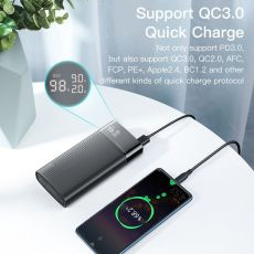 KUULAA Power Bank 20000mAh QC PD 3.0 PoverBank Fast Charging PowerBank 20000 mAh USB External Battery Charger For Xiaomi Mi 10 9