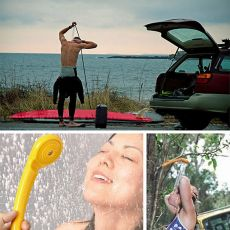 Portable 12V Camping Shower DC Car Shower High Pressure Power Washer Electric Pump For Outdoor Camping Hiking Pet Car Washer