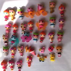 10pcs/lot Mini Lalaloopsy baby Doll Bulk Button Eyes Action Figure Children Toy Juguetes Brinquedos Toys For Girls mini doll toy
