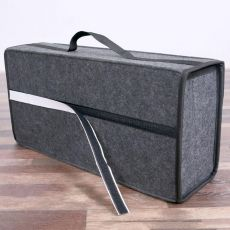 50*17*24cm Car Trunk Organizer Car Storage Bag Cargo Container Box Fireproof Stowing Tidying Holder Multi-Pocket Car Styling