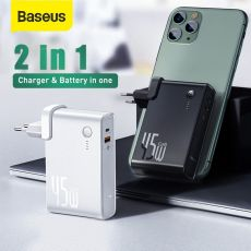 Power Bank Charger 10000mAh 45W USB C PD Fast Charging