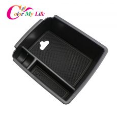 Color My Life Car Armrest Box Storage for Volkswagen VW Tiguan Mk2 2016 - 2020 Central Console Storage Box Interior Organizer
