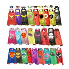 Superhero Capes with Masks for Kids Birthday Party Supplies