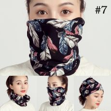 2020 autumn and winter women scarf soft cashmere-like plaid lady hair scarves rings children girl neck scarfs cotton face mask