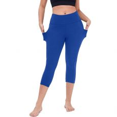25# Women's Stretch Slim Leggings Fitness Running Gym Sports Pockets Active Pants Push Up Leggins Gym Sport Pants Fitness Pants