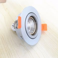 Free Shipping 2PCS LED Ceiling Light Frame Round Fixture Holders  Adjustable Cutou 65MM LED Ceiling Spot Light Lighting Fixtures