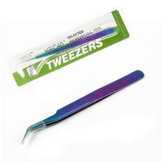 1pc Colorful Stainless Steel Tweezers Nail Art Decoration Tools Rainbow Color Rhinestones Picker Nail Art Picking Tools H1029