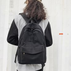 HGCBB 14L Canvas Women Backpack 2020 Vintage Backpacks for Teenagers Fashion Bags for Women Back Pack Beige Black Blue Yellow
