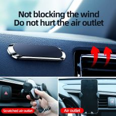 Magnetic Car Phone Holder Universal Paste Holder Stand For iPhone Samsung Xiaomi Huawei phone Holder Stand Car Mount Dashboad