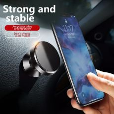 Magnetic Car Phone Stand Holder Dashboard Mount Magnet GPS Stand in Car Support For iPhone Huawei Samsung Air Vent Cradle Frame