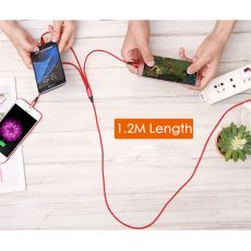 Data Line 3 in 1 cable For Android iphone Type-c Mobile Phone Multi-function Usb One Dragging Three Data Charge Cable