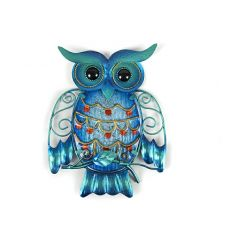 Metal Owl Home Decor for Garden Decoration Outdoor Statues
