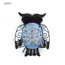 Metal Owl Home Decor for Garden Decoration Outdoor Statues Accessories Sculptures and Miniatures Animales Jardin