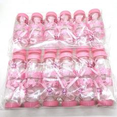 50Pcs/lot Baby Shower Decorations Girls Boys Candy Bottle Baptism Favors Christmas Halloween Party DIY Gifts Box Plastic Case
