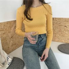 Fall Pink Knitted Sweater Women Clothes Black Korean Pullover Tops Vintage White Winter Thin Woman Sweaters Autumn Jumper 2020