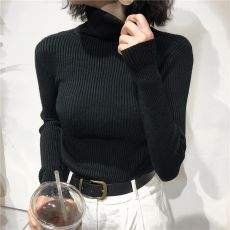Turtleneck Sweater Womens 2020 Autumn Winter Tops Korean Slim Women Pullover Jumper Knitted Sweater Pull Femme Hiver Truien