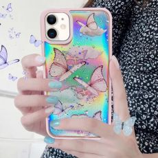 Gradient Rainbow Laser Butterfly Case for IPhone SE 2020 11 Pro Max Xs X Xr 8 7 Plus 6 6s 12 Glitter Clear Soft Silicone Cover