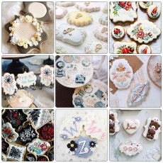 4Pcs/Set Stainless Steel Fondant Mold Cookie Stamper Nameplate Wedding Biscuit Lace Blessing Circle Flower Frame Cake Decoration